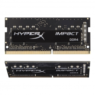 Kingston Hyper X Impact SoDimn 16GB DDR4 3200 (16GB x 1pcs)/Black - Lifetime Limited Warranty